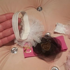 Juicy Couture Accessories - 4 headbands Premie/newborn
